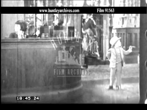 Mickey Rooney and Colleen Moore in Orchids and Ermine.  Film 91563