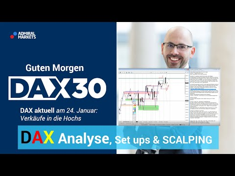 DAX aktuell: Analyse, Trading-Ideen & Scalping | DAX 30 | CFD Trading | DAX Analyse | 24.01.2020