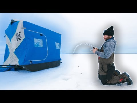 Ice Fishing Mille Lacs Lake 2020 (MUD FLATS)