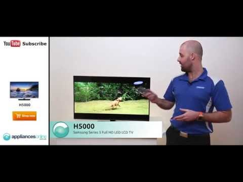 The Samsung H5000 Series 5 Full HD LED LCD TV Reviewed By Product Expert - Appliances Online