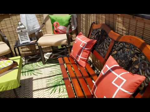 DIY Out door living Space: on a super low budget 💕😁💲