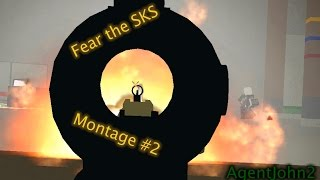 Roblox Phantom Forces - Fear the SKS Montage #2