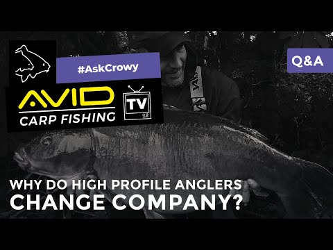 Avid Carp Fishing TV! | #AskCrowy | Q&A | Why Do High Profile Anglers Change Company?