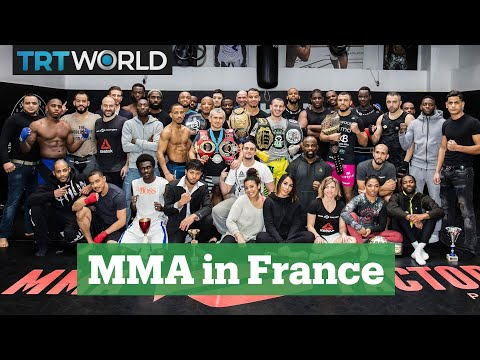 Mixed Martial Arts in France: MMA Factory