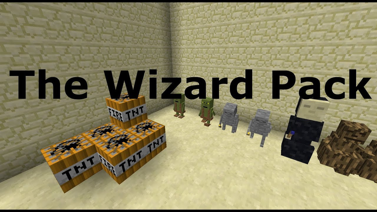 Download Wizard Pack - Minecraft: Command Block Mod | Old Features