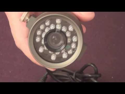видео: Обзор цветной видеокамеры наружного видеонаблюдения microdigital mdc-6020-f24