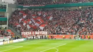 [2-6] Bayer 04 Leverkusen - FC Bayern München,17.04.2018 Stimmung vom DFB Pokal Halbfinale
