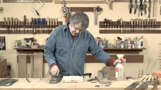 Guitar Building Videos - Sharpening Scrapers