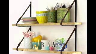 Diy Kitchen Shelving Ideas Wall Shelves Picture Collection