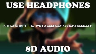 Kita Jaga Kita (Lyrics) 8D Audio | Ejen Ali The Movie OST | Syahmi Rosman
