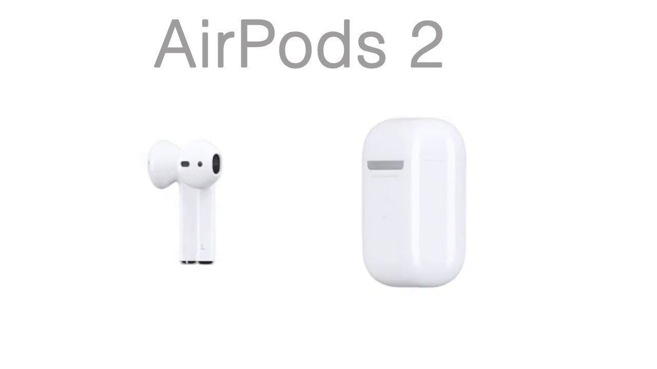 Apple -- AirPods 2.0