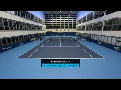 2019 Nitto ATP Finals: Live Stream Practice Court 1 (Saturday)