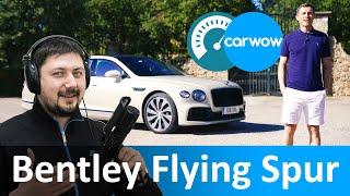 Bentley Continental Flying Spur 2020 - новейшая модель Бентли