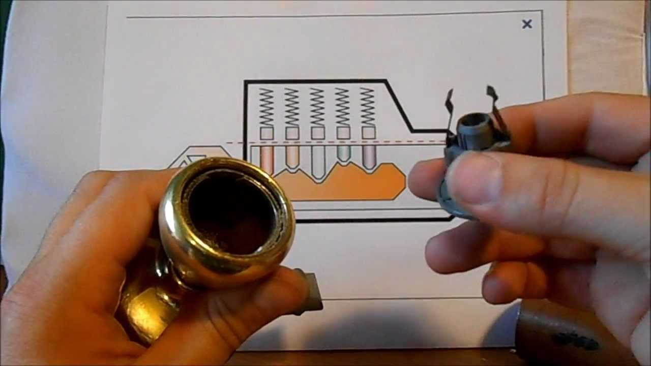 how to make a lock on a door