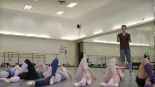 A sneak peek of Justin Peck
