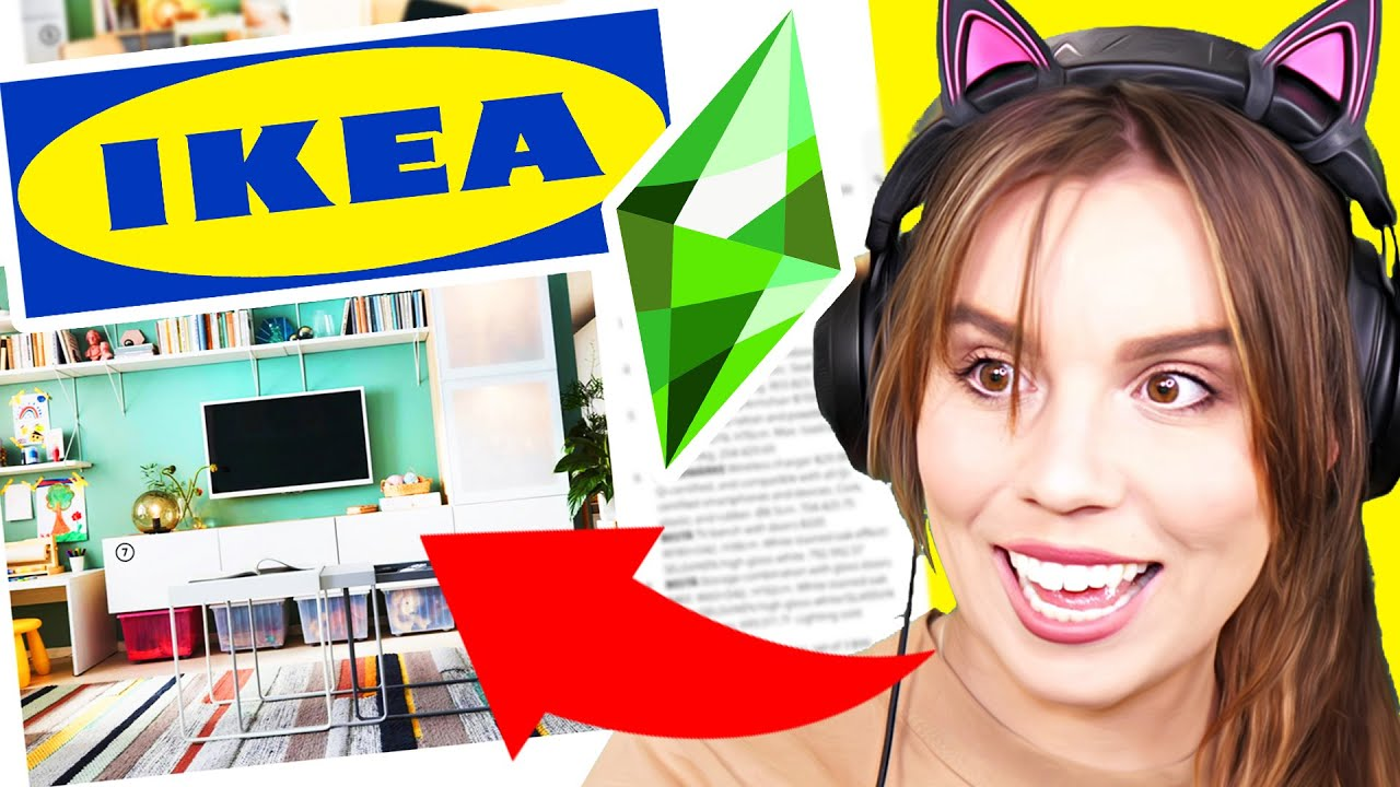 I tried to recreate IKEA rooms in The Sims 4... thumbnail