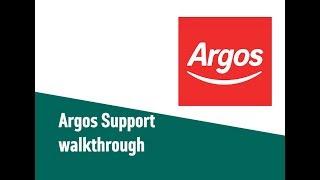 Argos Support