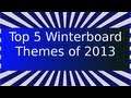 Top 5 Winterboard Themes for iPad 2013