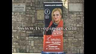 Ermina Lekaj Përlaskaj, kandidate për deputete në Parlamentin e Kroacis-02.11.201-