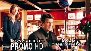 "Castle 8x16 Promo  - Castle Season 8 Episode 16 Promo ""Heartbreaker"" (HD)"