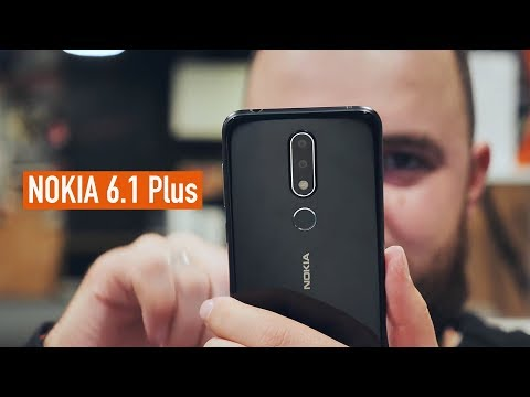 Обзор Nokia 6.1 Plus. Смартфон на Android One