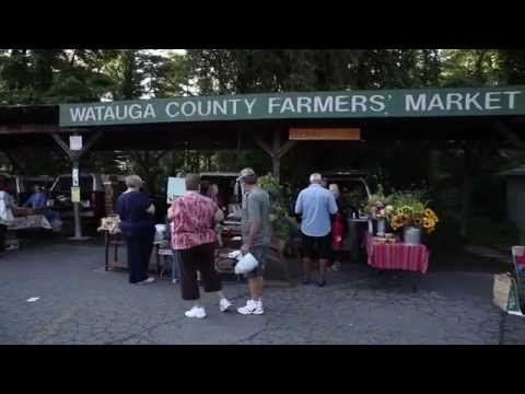 A Day at Watauga County Farmers' Market