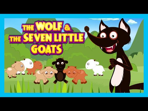 The Wolf and The Seven Little Goats Story | FAIRY TALES – Moral Stories for KIDS | The Wolf Story
