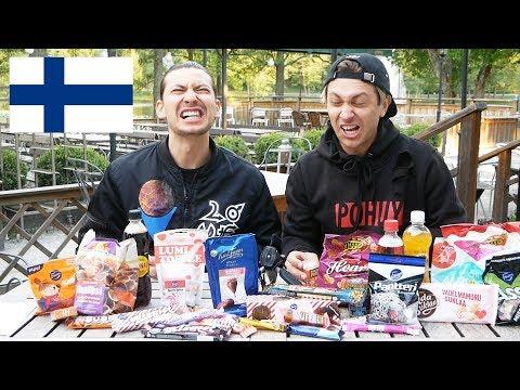 VLAD & DANIEL ÄR TILLBAKA   TESTAR FINSKT GODIS