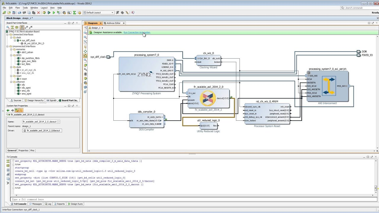 Specifying AXI4 Lite Interfaces for your Vivado System Generator Design  Final