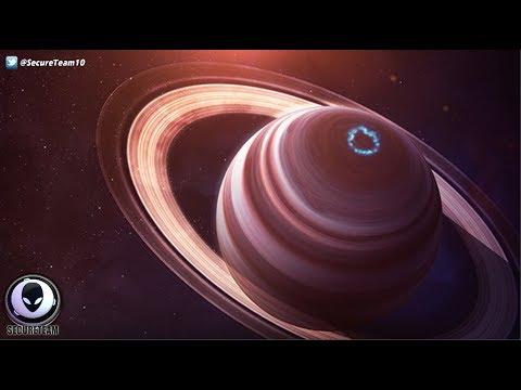 'GIANT' Alien Ships Around Saturn Admits Scientist! 7/15/17