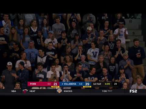 #BIGEASThoops Highlights: #4 Villanova vs. University of Pennsylvania