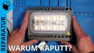 Teuer und schon kaputt! LED Strahler - Fehlersuche nach 1 Jahr Betrieb.