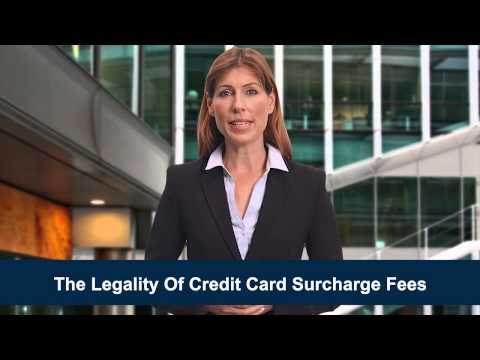 The Ality Of Credit Card Surcharge Fees