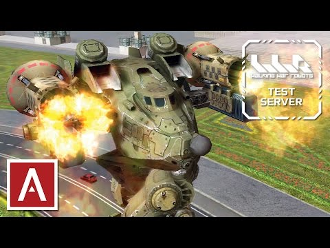 War Robots Test Server [2.5.0] Live Stream - December 24, 2016