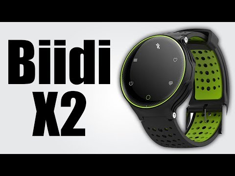 Biidi X2 - 0.96 Inch / Bluetooth 4.0 / Waterproof IP68 / Sleep Monitor / Heart Rate