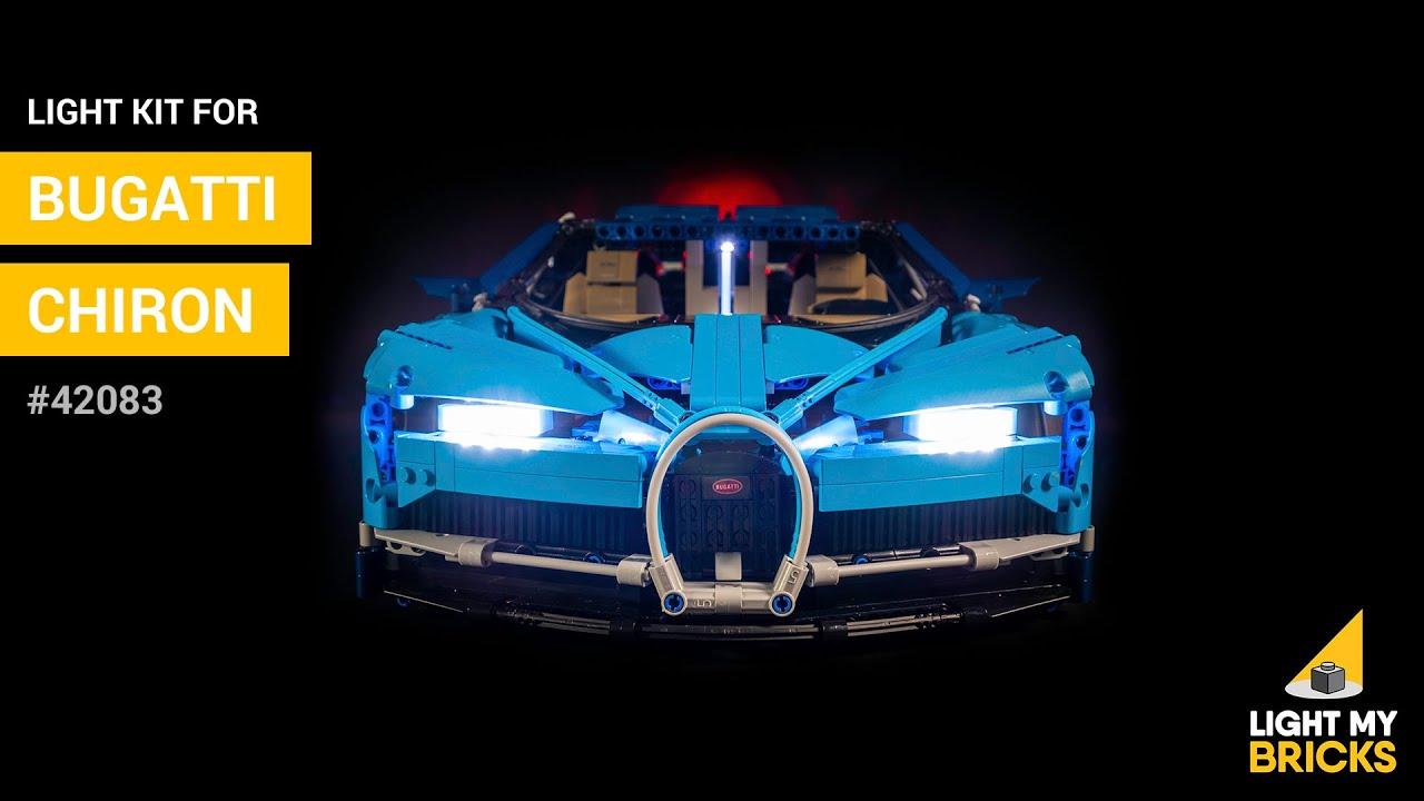 Comment Monter Un Lit Cars lego bugatti chiron #42083 - light kit - light my bricks