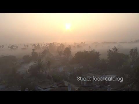 My Village Morning Sunrise Video    Street Food Catalog