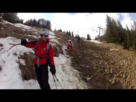 Ski Sinaia pe Firul Văii cu Sacha, Nicoleta şi copiii, 12-04-2012, by Mister Fox
