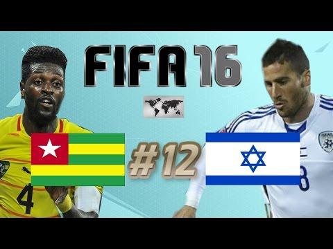 FIFA 16 - INTERNATIONAL ROULETTE #12 - TOGO VS ISRAEL