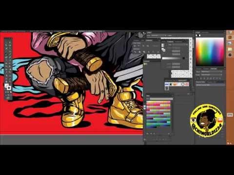 The Art of the Ninja Adobe Illustrator Tutorial: (Speedart)