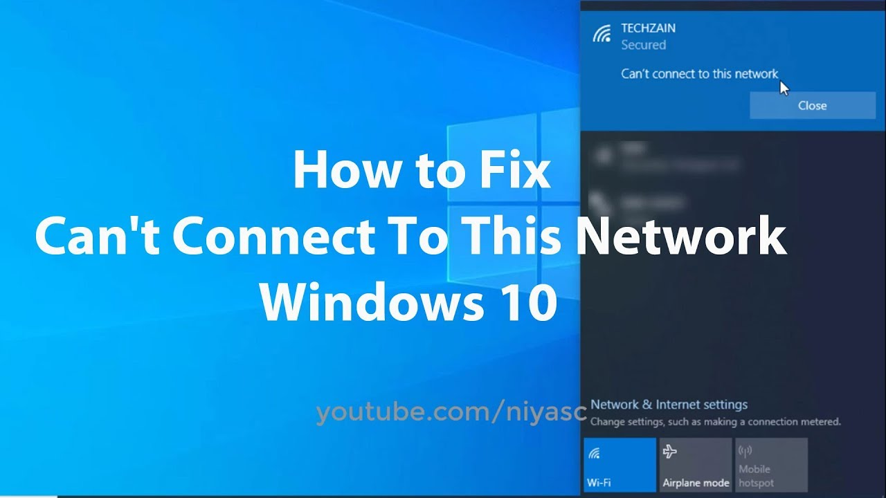 Windows 10 Wifi Cannot Connect To Network, Jobs EcityWorks
