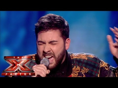 Andrea Faustini Sings Jessie J's Who You Are (Sing Off) | Semi-Final Results | The X Factor UK 2014