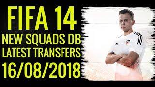 FIFA 14 ● UPDATE SQUADS DB ● TRANSFERS 16/08/2018 ● By Minosta4u