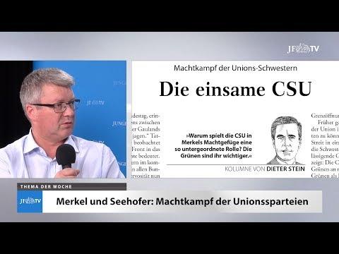 Ein Blick in die neue JF (28/18): Die einsame CSU