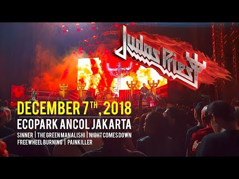 Judas Priest - Live - Ecopark Ancol Jakarta Dec 07, 2018 (4K) Mp3