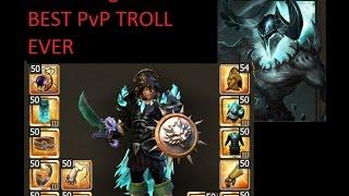 Drakensang Online - DeadDragonX6 Best PvP Troll