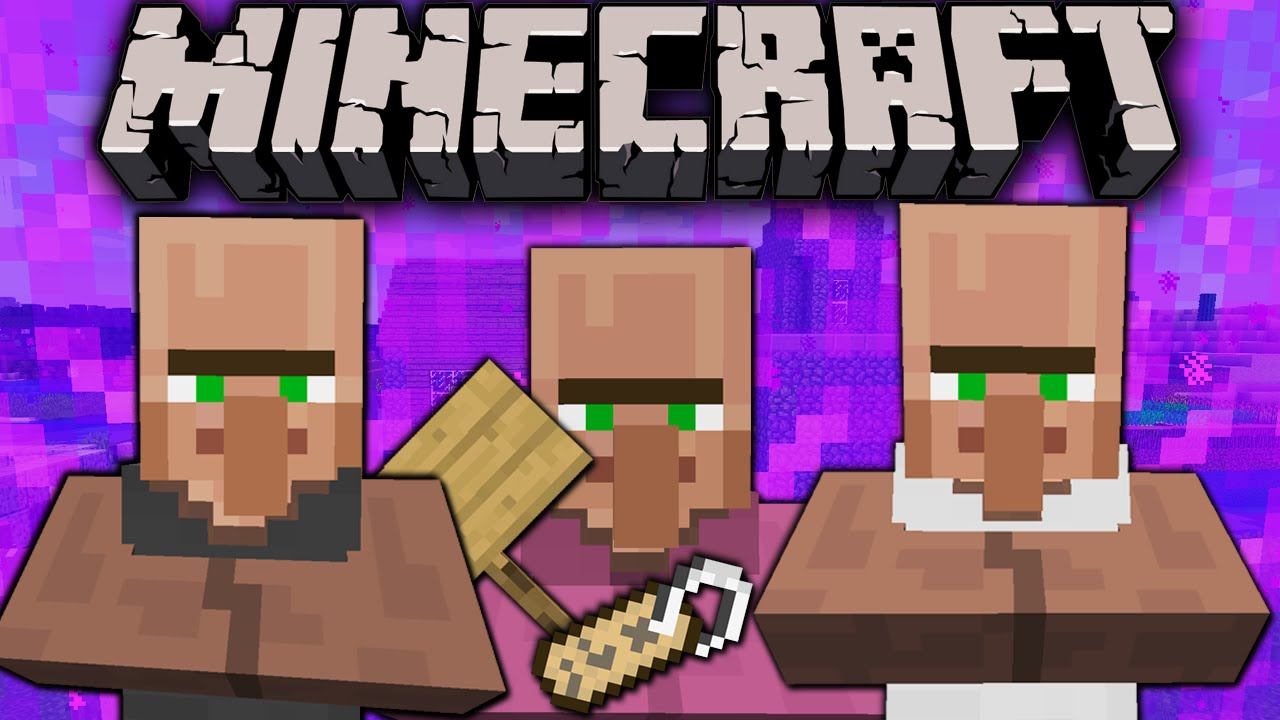 Minecraft 18 name villagers in survival nametag nether portal minecraft 18 name villagers in survival nametag nether portal copy signs scary zombie pigmen youtube sciox Images