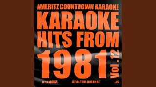 Let's Groove (In the Style of Earth, Wind & Fire) (Karaoke Version)