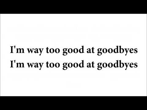 Sam Smith - Too Good At Goodbyes cover (lirik lagu)