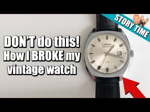 I Broke My Vintage Russian Watch 5 Hours After Buying It